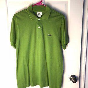 Lacoste Polo Green Size 3